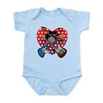 Power trio2 Infant Bodysuit