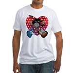 Power trio2 Fitted T-Shirt