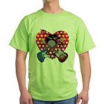 Power trio2 Green T-Shirt