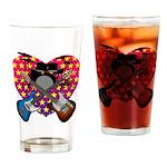 Power trio2 Drinking Glass