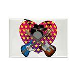 Power trio2 Rectangle Magnet