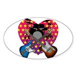 Power trio2 Sticker (Oval 50 pk)