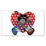 Power trio2 Sticker (Rectangle 50 pk)