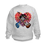 Power trio2 Kids Sweatshirt