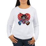 Power trio2 Women's Long Sleeve T-Shirt
