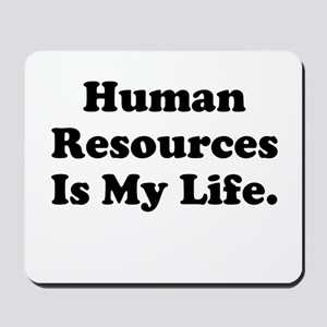 Human Resources Manager or Worker Mousepad