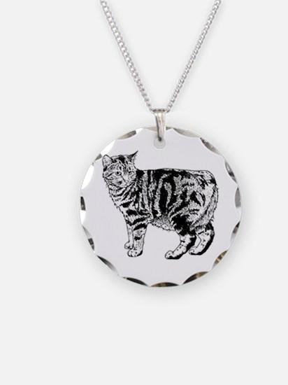 Manx Cat Necklace