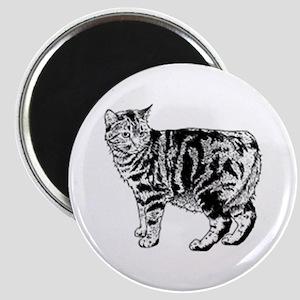 Manx Cat Magnet