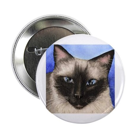 "Siamese Cat 2.25"" Button (100 pack)"