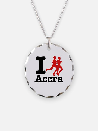 I Run Accra Necklace