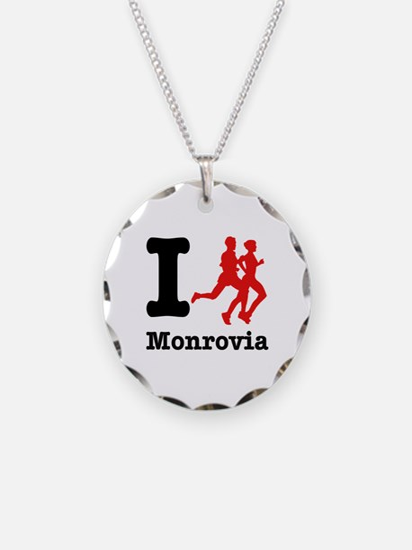 I Run Monrovia Necklace
