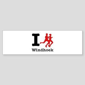 I Run Windhoek Sticker (Bumper)