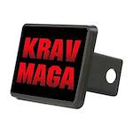 Krav Maga Rectangular Hitch Cover