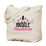 Muscle Goddess Tote Bag