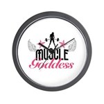 Muscle Goddess Wall Clock
