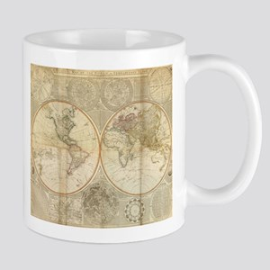 Antique world maps mugs cafepress stainless steel travel mugs gumiabroncs