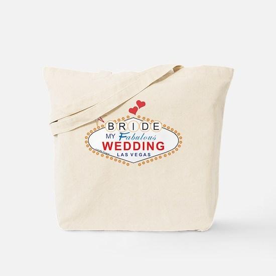 Vegas Bride Tote Bag