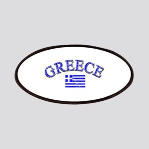 Greece Soccer Designs Patches