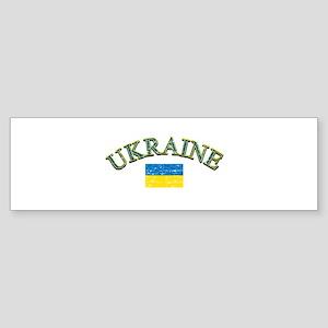 Ukraine Soccer Designs Sticker (Bumper)