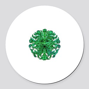 Green Man Gaze Magnet