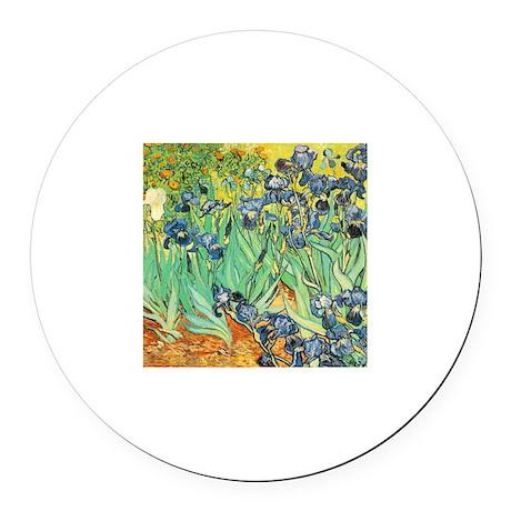 Vincent Van Gogh Irises Magnet