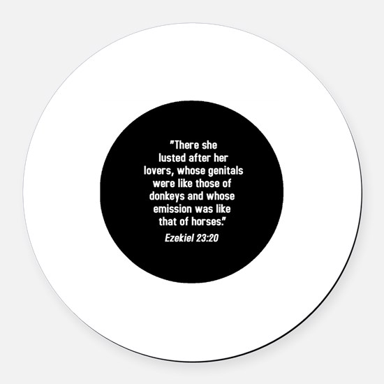 Ezekiel 23:20 Magnet