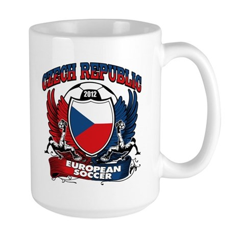 Czech Republic Football 2012 Large Mug