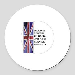 UK, Take America Back Magnet