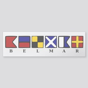 Nautical Belmar Sticker (Bumper)
