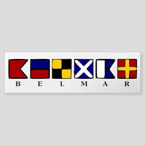 Nautical Belmar Sticker (Bumper)