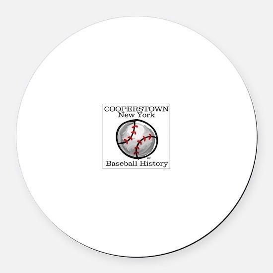 Cooperstown NY Baseball shopp Magnet