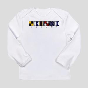 Nautical Laguna Long Sleeve Infant T-Shirt