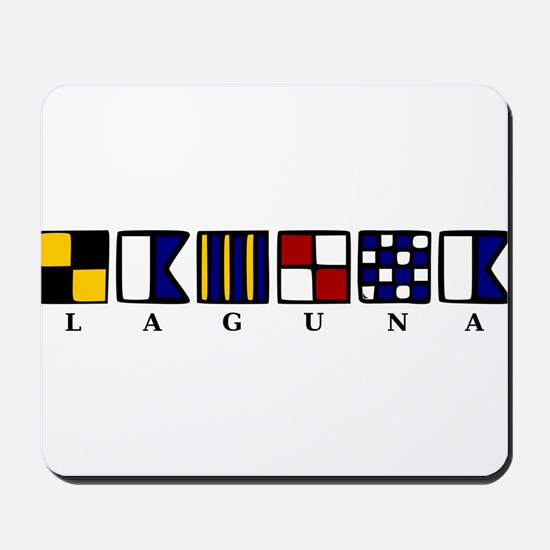 Nautical Laguna Mousepad