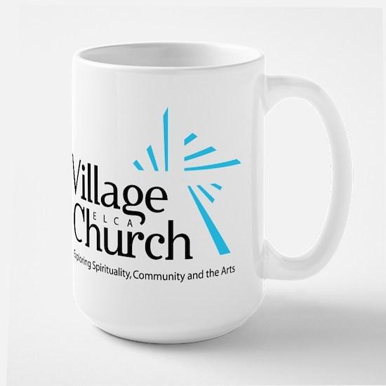 Village Church Large Mug