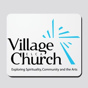 Village Church Mousepad
