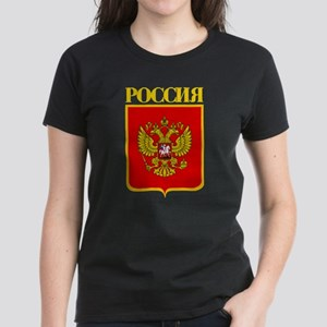 Russian Federation COA Women's Dark T-Shirt