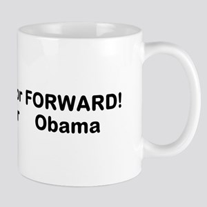 backward or forward? Mug