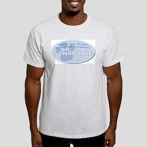 Best Friend Schnoodle Ash Grey T-Shirt