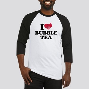 I love Bubble Tea Baseball Jersey