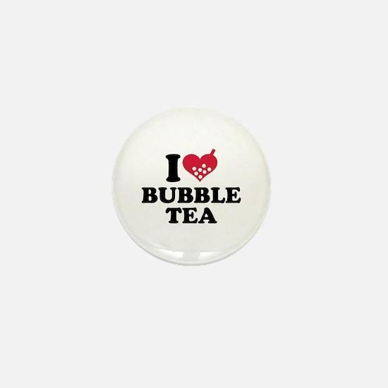 I love Bubble Tea Mini Button