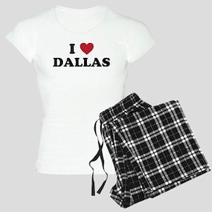 I Love Dallas Women's Light Pajamas