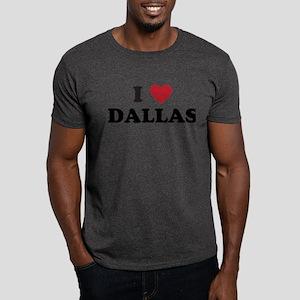 I Love Dallas Dark T-Shirt