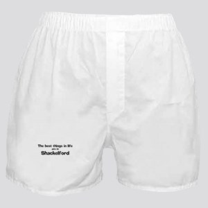 Shackelford: Best Things Boxer Shorts