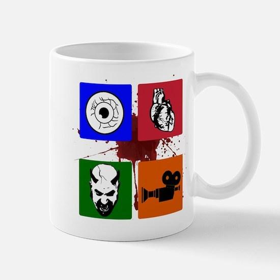 I Heart Monster Movies Logo Mug