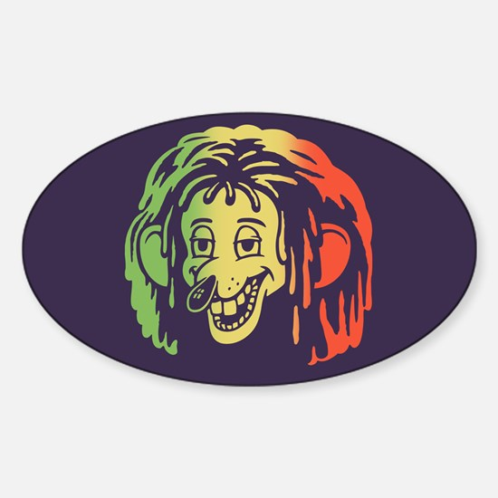 Dread Rodent Sticker (Oval)