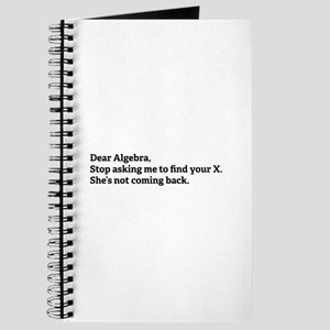 Dear Algebra Journal
