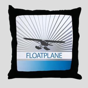 Aircraft Float Plane Throw Pillow