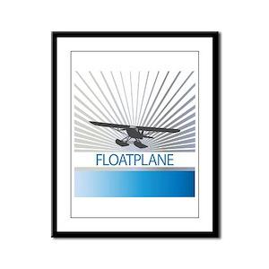 Aircraft Float Plane Framed Panel Print