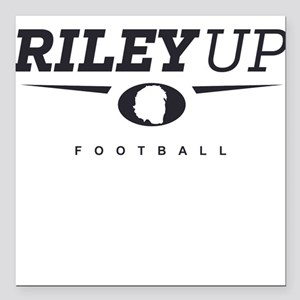 "Riley Nelson ""Riley Up"" Square Car Magnet"
