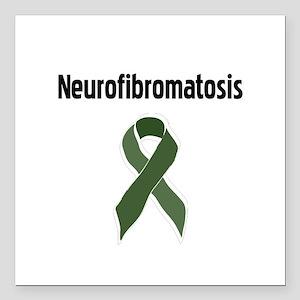 Neurofibromatosis Square Car Magnet